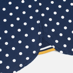 Fred Perry Polka Dot SS Men's Shirt Rich Navy photo- 5