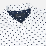Мужская рубашка Fred Perry Polka Dot SS White фото- 1