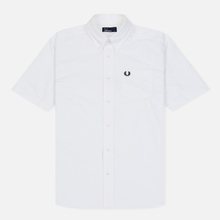 Мужская рубашка Fred Perry S/S Classic Oxford White фото- 0