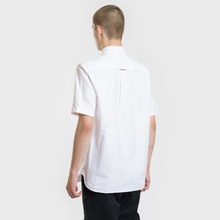 Мужская рубашка Fred Perry S/S Classic Oxford White фото- 2