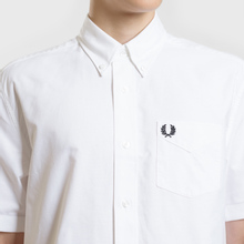 Мужская рубашка Fred Perry S/S Classic Oxford White фото- 3