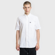 Мужская рубашка Fred Perry S/S Classic Oxford White фото- 1