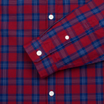 Мужская рубашка Fred Perry Tartan Gingham Mix Red фото- 2