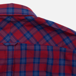 Мужская рубашка Fred Perry Tartan Gingham Mix Red фото- 5