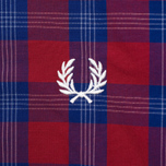 Мужская рубашка Fred Perry Tartan Gingham Mix Red фото- 3