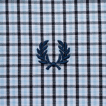 Мужская рубашка Fred Perry Three-Colour Basketweave Glacier фото- 5