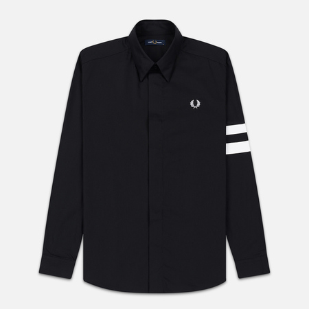 Мужская рубашка Fred Perry Tipped Sleeve Black