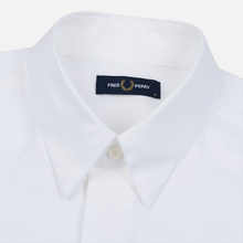 Мужская рубашка Fred Perry Tipped Sleeve White фото- 1