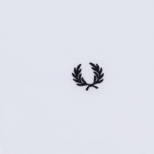Мужская рубашка Fred Perry Tipped Sleeve White фото- 2