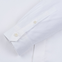 Мужская рубашка Fred Perry Tipped Sleeve White фото- 3
