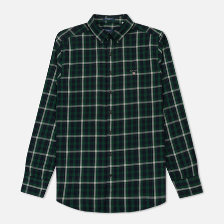 Мужская рубашка Gant Original Nordic Plaid Regular Fit BD Ivy Green