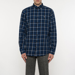 Мужская рубашка Gant Original Nordic Plaid Regular Fit BD Yale Blue фото- 5