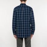 Мужская рубашка Gant Original Nordic Plaid Regular Fit BD Yale Blue фото- 6