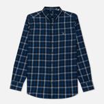 Мужская рубашка Gant Original Nordic Plaid Regular Fit BD Yale Blue фото- 0
