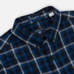 Мужская рубашка Gant Original Nordic Plaid Regular Fit BD Yale Blue фото- 1