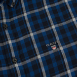 Мужская рубашка Gant Original Nordic Plaid Regular Fit BD Yale Blue фото- 2