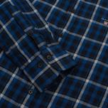 Мужская рубашка Gant Original Nordic Plaid Regular Fit BD Yale Blue фото- 3
