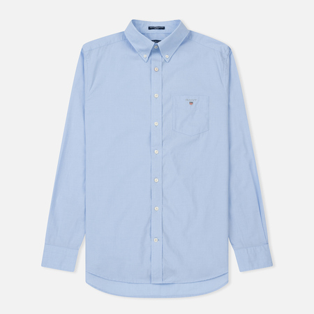Мужская рубашка Gant Regular Broadcloth Hamptons Blue