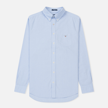 Мужская рубашка Gant The Oxford Regular Fit BD Navy
