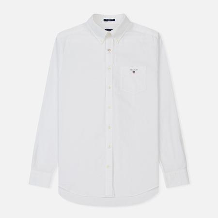 Мужская рубашка Gant Regular Oxford White