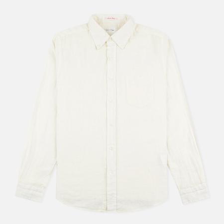 Мужская рубашка Gant Rugger Basketweave Off White