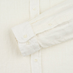 Мужская рубашка Gant Rugger Basketweave Off White фото- 3