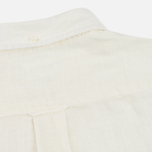 Мужская рубашка Gant Rugger Basketweave Off White фото- 5