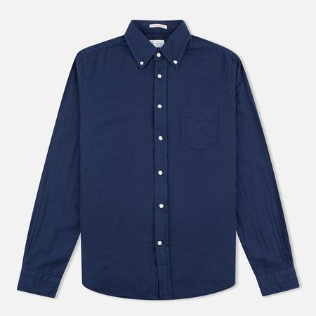 Мужская рубашка Gant Rugger Basketweave Thunder Blue