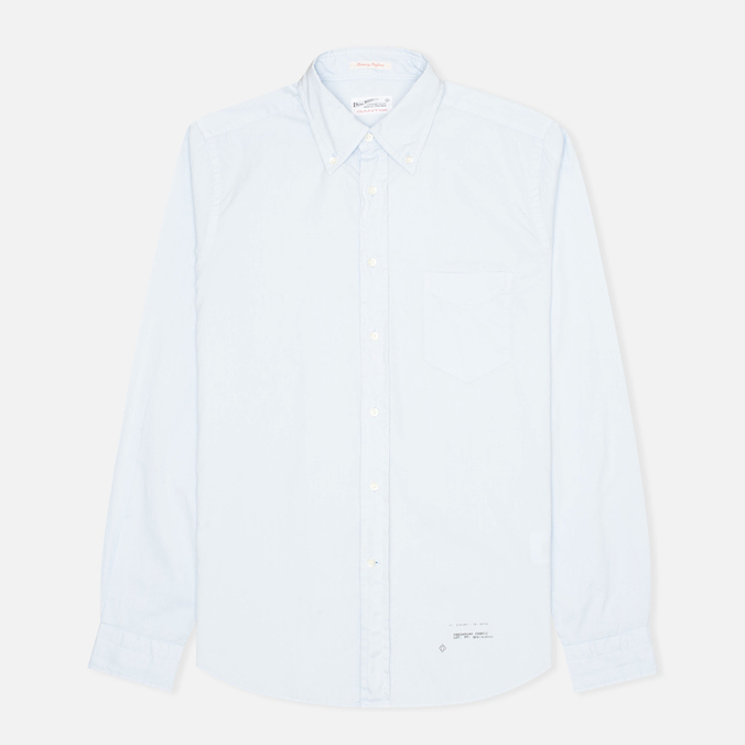 Мужская рубашка Gant Rugger Luxury Oxford Garment Dyed Hamptons Blue