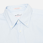 Мужская рубашка Gant Rugger Luxury Oxford Garment Dyed Hamptons Blue фото- 1