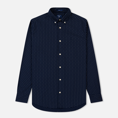 Мужская рубашка Gant The X And O Marine