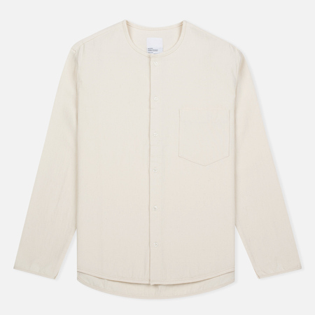 Мужская рубашка Garbstore Bleacher Button Up Natural