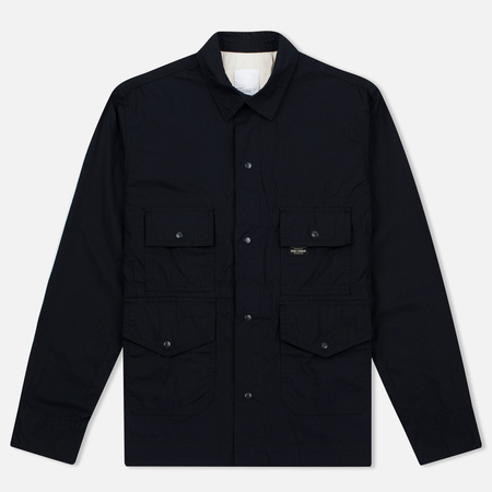 Garbstore Flight Cotton Men's Shirt Navy