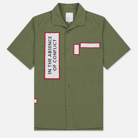 Мужская рубашка Garbstore Slacker Ripstop SS Olive