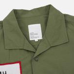 Мужская рубашка Garbstore Slacker Ripstop SS Olive фото- 1