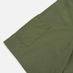 Мужская рубашка Garbstore Slacker Ripstop SS Olive фото- 4