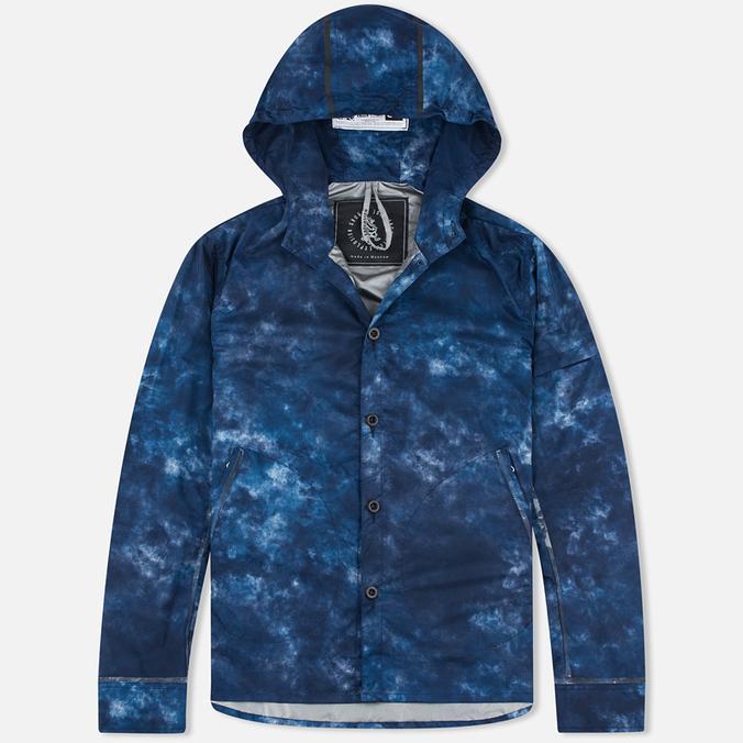Мужская куртка ветровка GJO.E 10S13CM Camo Indigo