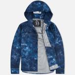 Мужская куртка ветровка GJO.E 10S13CM Camo Indigo фото- 1