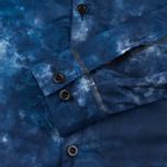 Мужская куртка ветровка GJO.E 10S13CM Camo Indigo фото- 4