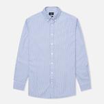 Мужская рубашка Hackett Bengal Stripe White/Blue фото- 0