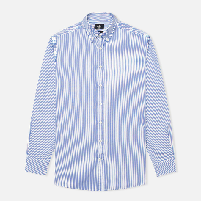 Мужская рубашка Hackett Bengal Stripe White/Blue