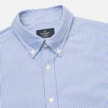 Мужская рубашка Hackett Bengal Stripe White/Blue фото- 1