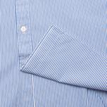 Мужская рубашка Hackett Bengal Stripe White/Blue фото- 3