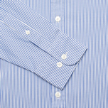 Мужская рубашка Hackett Bengal Stripe White/Blue фото- 2