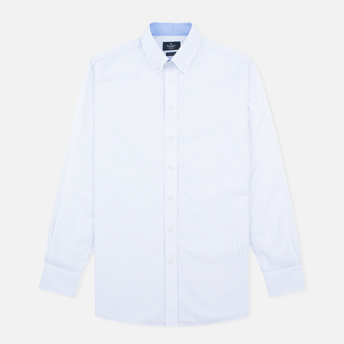 Мужская рубашка Hackett Double Dots Blue/White