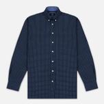 Мужская рубашка Hackett Floral Square Print Navy фото- 0