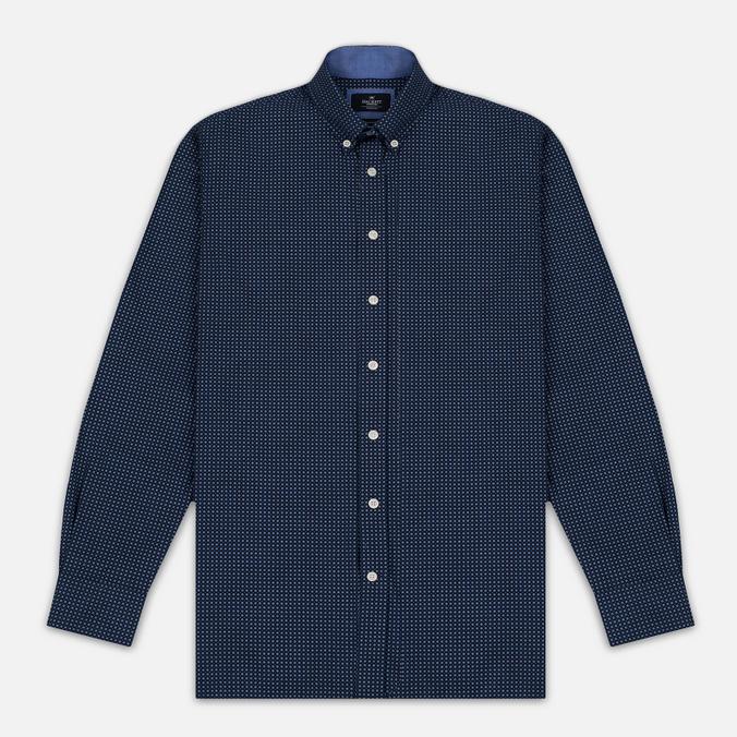 Мужская рубашка Hackett Floral Square Print Navy
