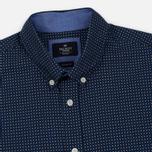 Мужская рубашка Hackett Floral Square Print Navy фото- 1