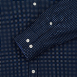 Мужская рубашка Hackett Floral Square Print Navy фото- 2