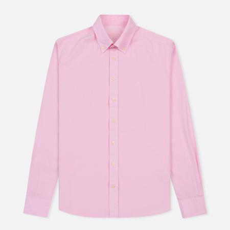 Мужская рубашка Hackett Garment Dye Delave Oxford Baby Pink
